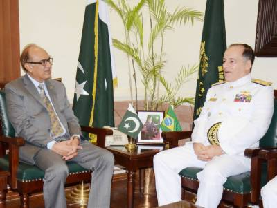Pakistan Brazil vow to enhance defence ties