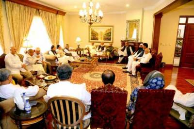 Pakistan's entire political elite unite against one point