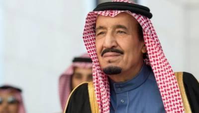 Saudi king begins holiday in still unbuilt mega-city
