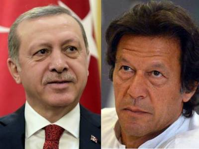 Turkish President Tayyip Erdogan telephones PM elect Imran Khan