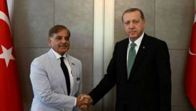 Turkish President Tayyip Erdogan telephones Shahbaz Sharif