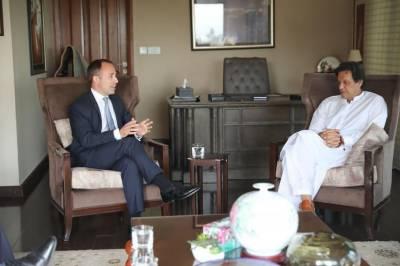 British High Commissioner meets PM designate Imran Khan in Banigala