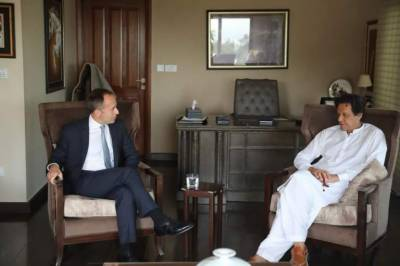 Imran Khan gives an important message to British High Commissioner: Media Report