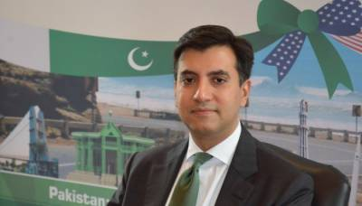 Pak envoy meets US secretary of defense at Pentagon