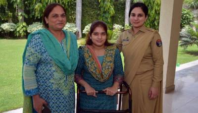 Pakistan Army provides job to physically challenged female voter from Lahore