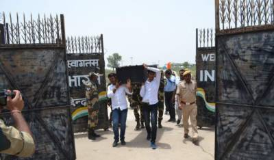 Pakistan returns back dead body of Indian woman to BSF