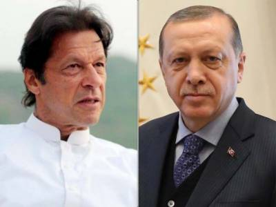 PTI tweets in Turkish after Erdogan congratulates Imran via phone