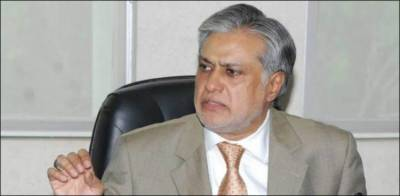 Screw tightening against former finance minister Ishaq Dar
