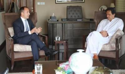 What message British High Commissioner delivered to Imran Khan?