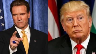 Former Governor Arnold Schwarzenegger blasts President Donald Trump