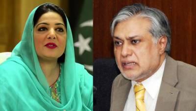 Ishaq Dar, Anusha Rehman in hot waters