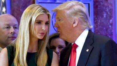 Ivanka Trump - Donald Trump at odds with each other