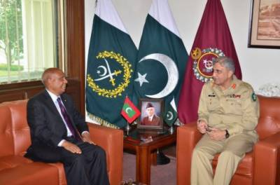 Maldives High Commissioner calls on COAS General Bajwa