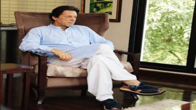 MQM delegation meets Imran Khan in Bani Gala