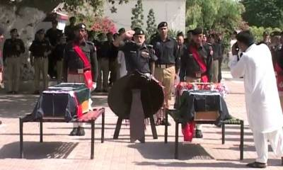 Police martyrs day in KP to commemorate 1300 soldiers martyrdom in war on terror