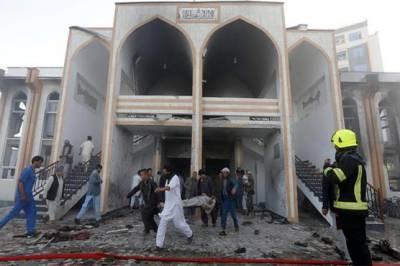 Suicide blast in Shiite mosque in Afghanistan plays havoc