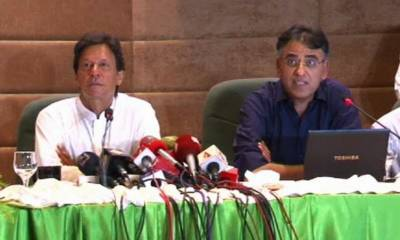 In a surprise, PTI Finance Minister designate Asad Umer hits out at America