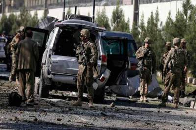 At least 3 US soldiers killed in a suicide blast in Afghanistan