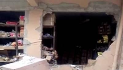 Gas cylinder blast leaves two dead in Karachi