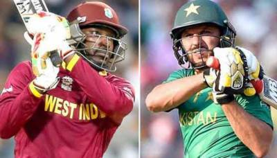 Shahid Afridi challenges Chris Gayle for a six-hitting contest
