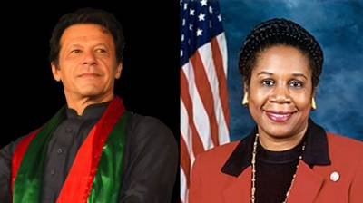 US Congresswoman felicitates PTI Chief over victory in elections