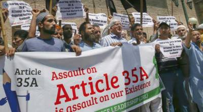 Abrogation of Article 35-A unacceptable at any cost: JI IOK