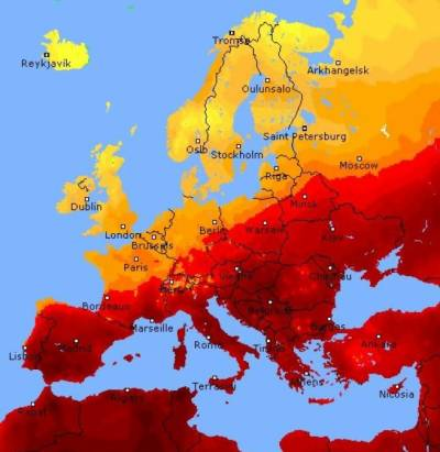 Extreme heat causes havoc across Europe with death toll rising
