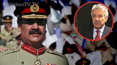 Former Minister Khawaja Asif breaks silence over issue of Raheel Sharif