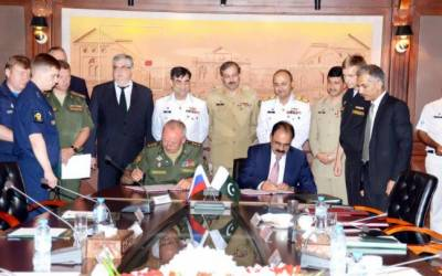 In a first, Pakistan Russia sign historic defence cooperation agreement