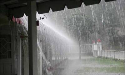 Intermittent rain lashes Islamabad, Rawalpindi