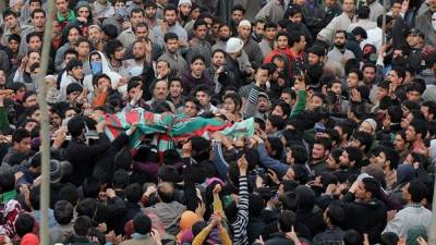 IOK: Indian troops martyr four youth in Bandipora