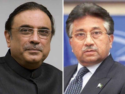 NRO Deal: Asif Zardari, Pervaiz Musharraf in hot waters