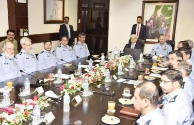 PM visits Pakistan Aeronautical Complex