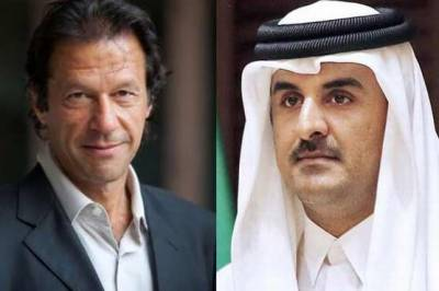Qatar Emir telephones PM designate Imran Khan, invites him for an official visit