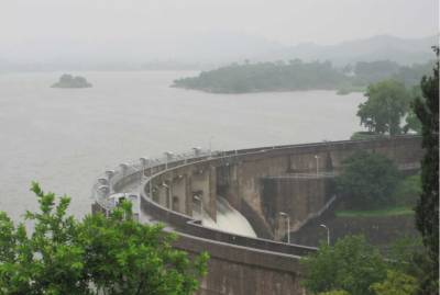 Rawal Dam spillways opened as water level rises