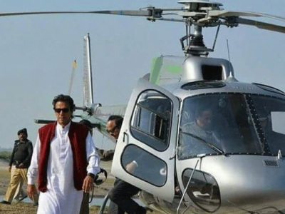 What did NAB Peshawar tell Imran Khan in helicopter probe case?