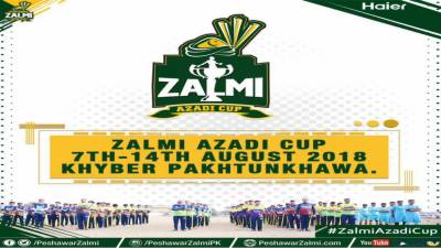 Zalmi Azadi Cup to begin today