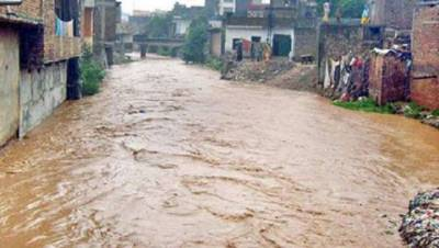 Flood arrangements reviewed to overcome any untoward situation in Nullah Leh