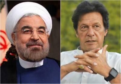 Imran Khan accepts Iranian President invitation to visit Iran