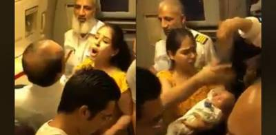 Infant child reportedly passed out due suffocation in PIA flight, inquiry ordered