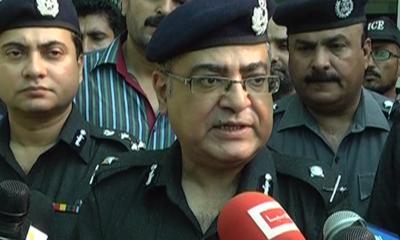 Karachi Police Chief AIG Mushtaq Mahar sacked