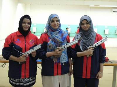 Pakistan Navy wins seven medals on opening day of shooting tournament