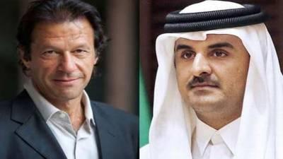 Qatar Emir felicitates Imran Khan on election victory