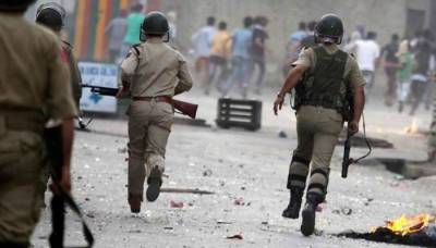 Troops martyr four Kashmiri youth in IOK