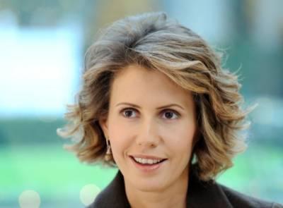 Wife of Syrian President Bashar Al Asad treated for breast cancer