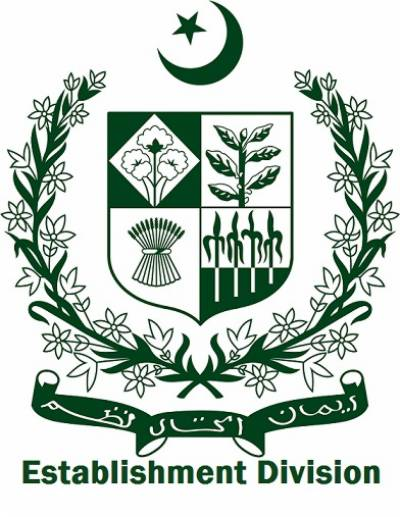Establishment Division Instructions To Federal Provincial