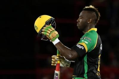 Andre Russel creates history in CPL