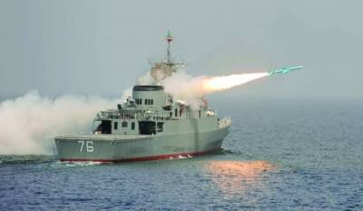 Iran fires anti ship missiles in Strait of Hormuz, Washington believes it as a message from Tehran: US
