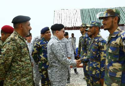 Naval Chief reviews operational readiness of Naval troops