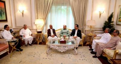 PPP top leadership holds important meeting with Shahbaz Sharif at his residence in Lahore